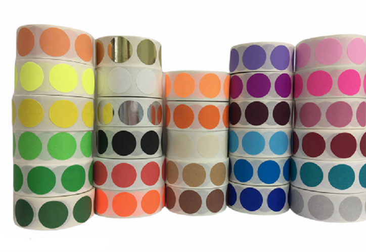 1.5 inch Round Blank Color Coding Labels - Choose your Color and Quantity