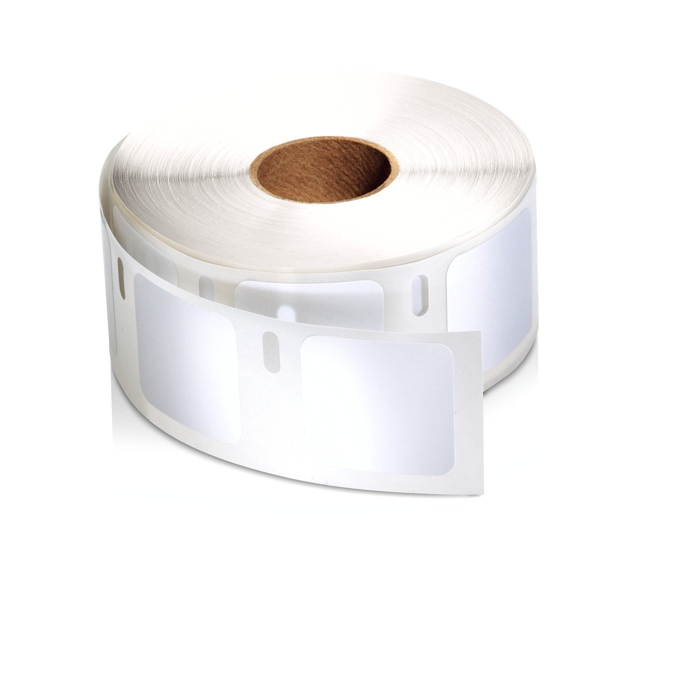 "Dymo Compatible 30332 Small Multi Purpose Labels - 1"" x 1"", 1000 Labels Per Roll"