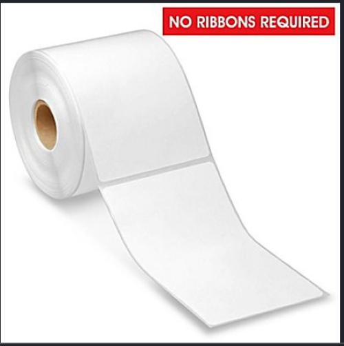 "3"" x 5"" Desktop Direct Thermal Labels - 300 Labels Per Roll / Removable Adhesive"