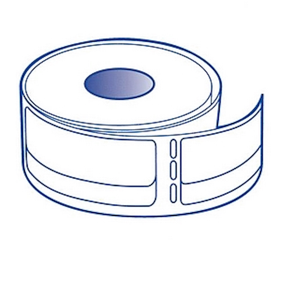 "Dymo Compatible 30578 Return Address Labels - 3/4"" x 2"", 200 Labels Per Roll"
