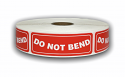 "DO NOT BEND Labels - 1"" x 3"""