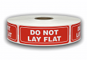 "DO NOT LAY FLAT Labels - 1"" x 3"""